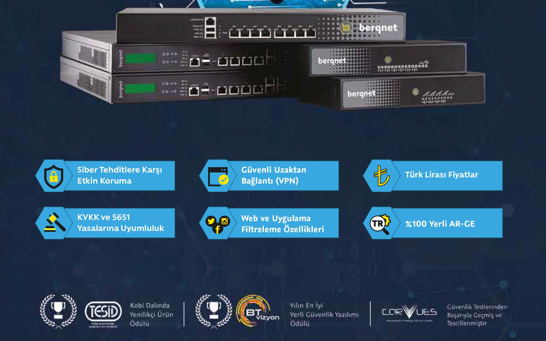 Berqnet UTM güvenlik duvarı Firewall